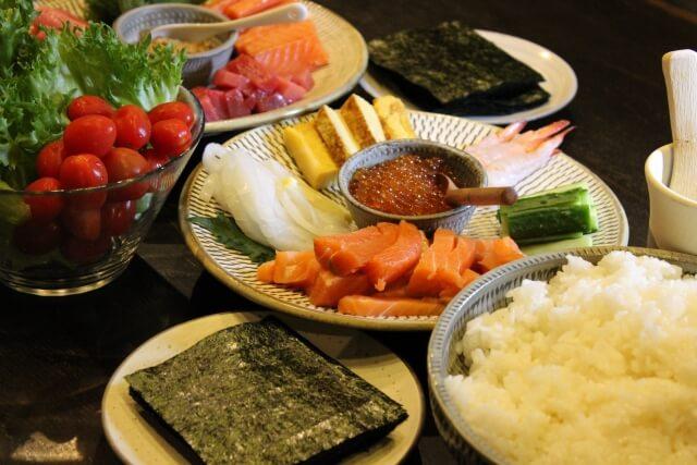手巻き寿司にもう一品合うおかずや汁物