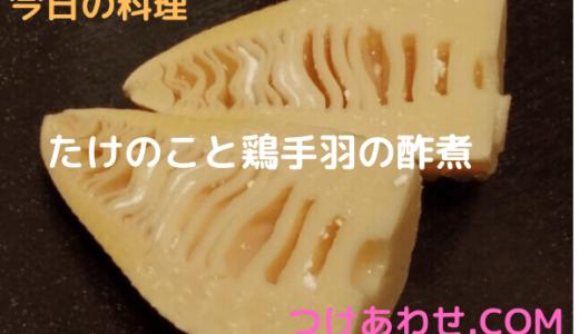 きょうの料理【杉本節子】「たけのこと鶏手羽の酢煮」おさらい&付け合わせ!