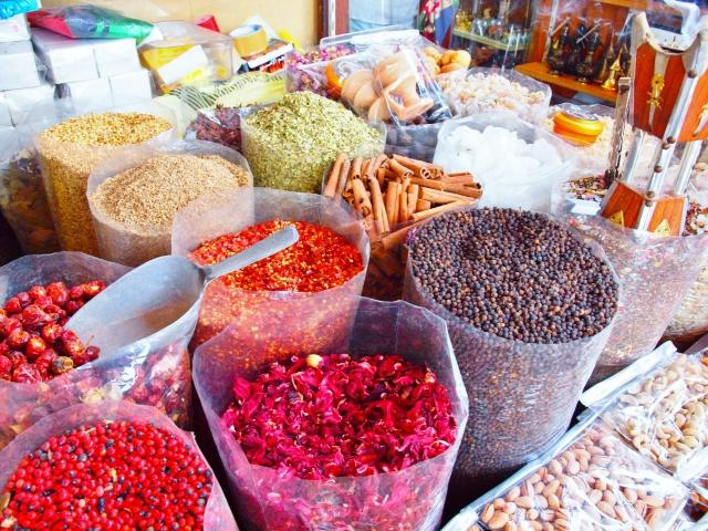 モロッコ料理のワンプレート