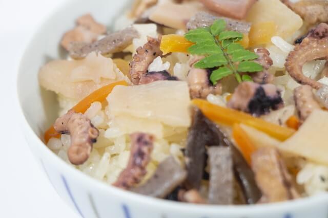 きょうの料理【斎藤辰夫】「たこ豆ご飯」レシピと作り方のおさらい&付け合わせ