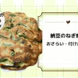 上沼恵美子のおしゃべりクッキング「納豆のねぎ焼き」おさらい・付け合わせ!
