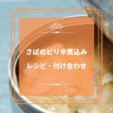 上沼恵美子のおしゃべりクッキング「さばのピリ辛煮込み」レシピと付け合わせ