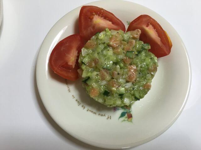 上沼恵美子のおしゃべりクッキング「あじのトマト油淋」レシピと付け合わせ